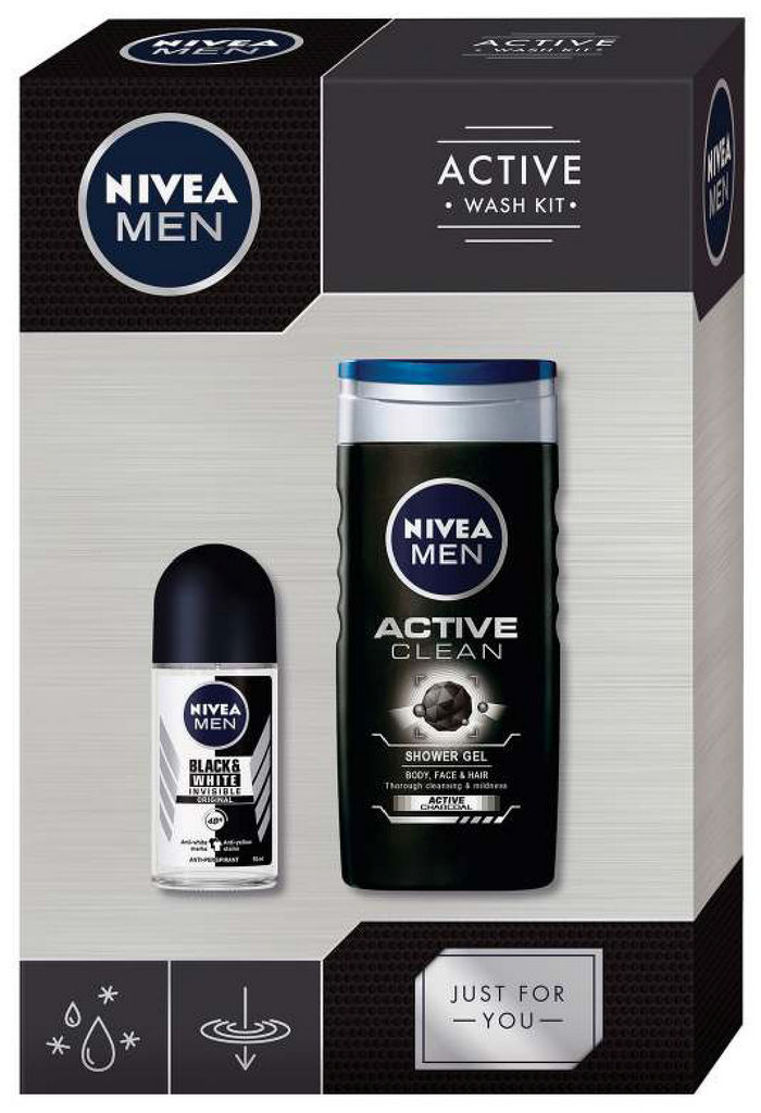 Darilni set Nivea, Men active