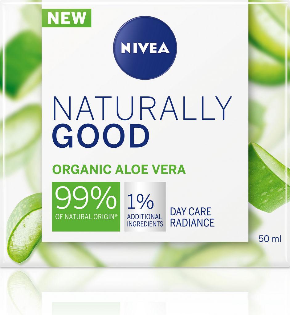 Krema za obraz Nivea naturally good dnevna, 50ml
