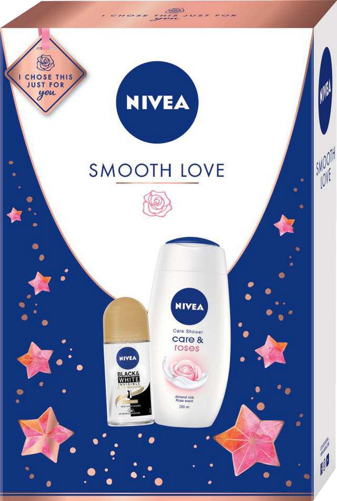Darilni set Nivea, Smooth love