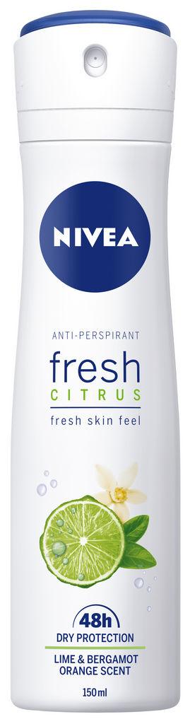 Dezodorant Nivea Fresh Citrus antiperspirant sprej za ženske, 150ml