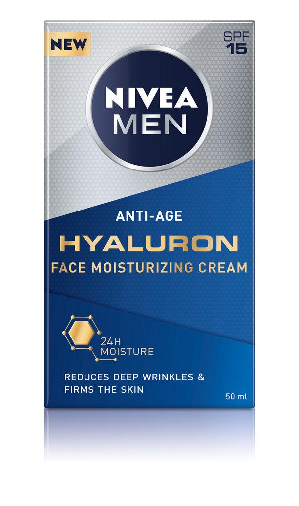 Krema Nivea, Anti Age Hyaluron, hidratantna men, 50 ml