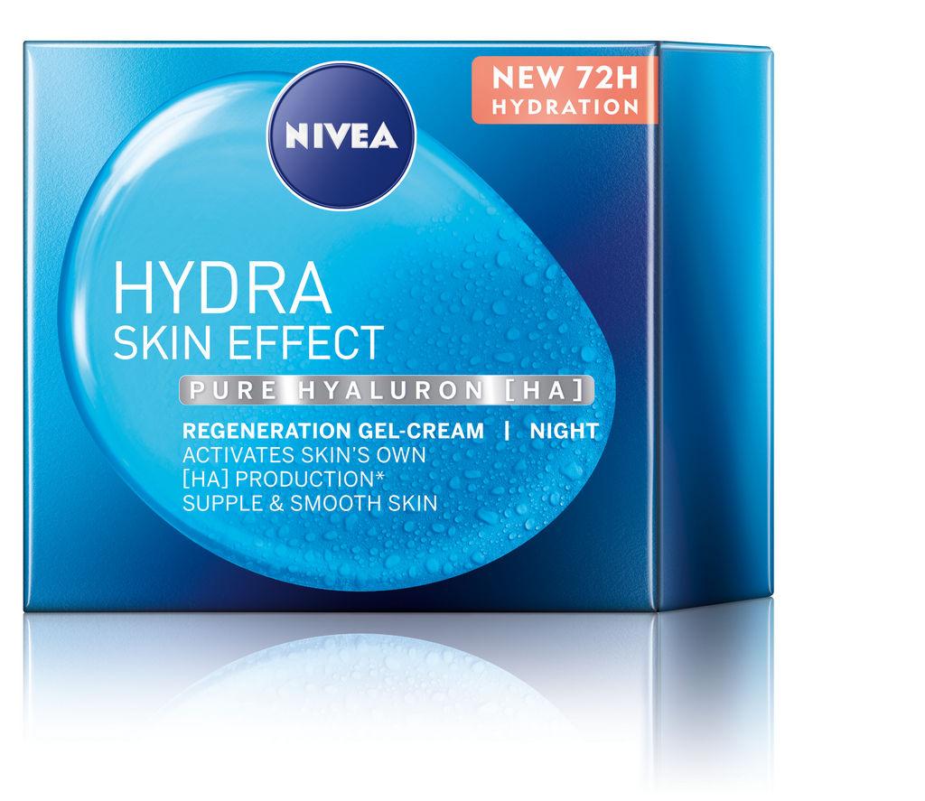 Gel Nivea,  Hydra skin effect,  nočni kremni, 50 ml