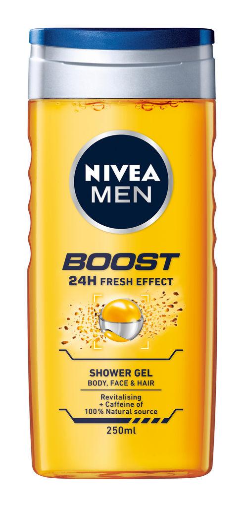 Gel za prhanje Nivea, Active Energi,  men, 250 ml