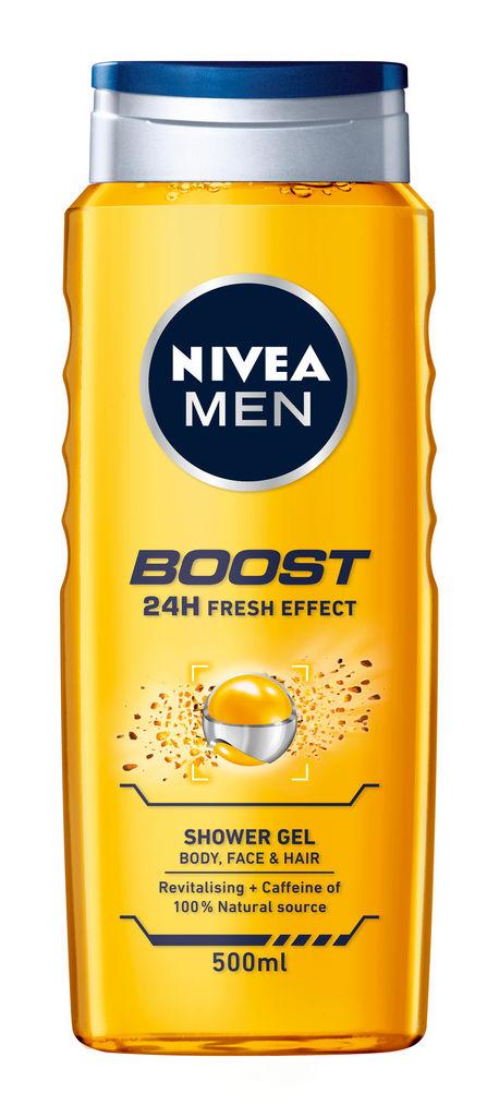 Gel za tuširanje Nivea, Active Energy, men, 500 ml