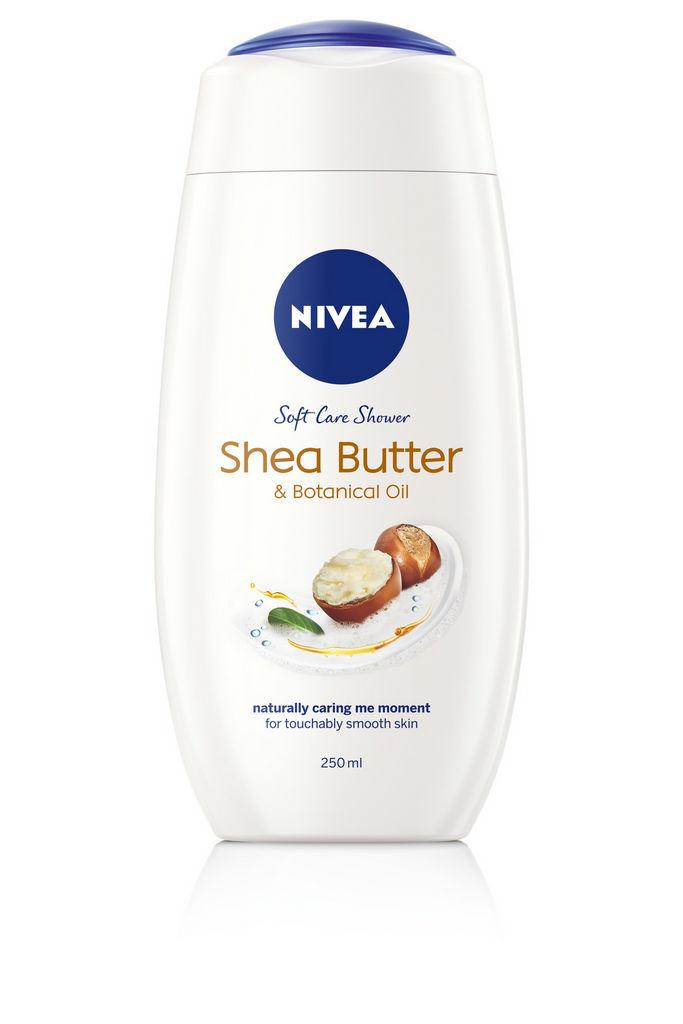 Gel za prhanje Nivea, Shea Butter, 250 ml