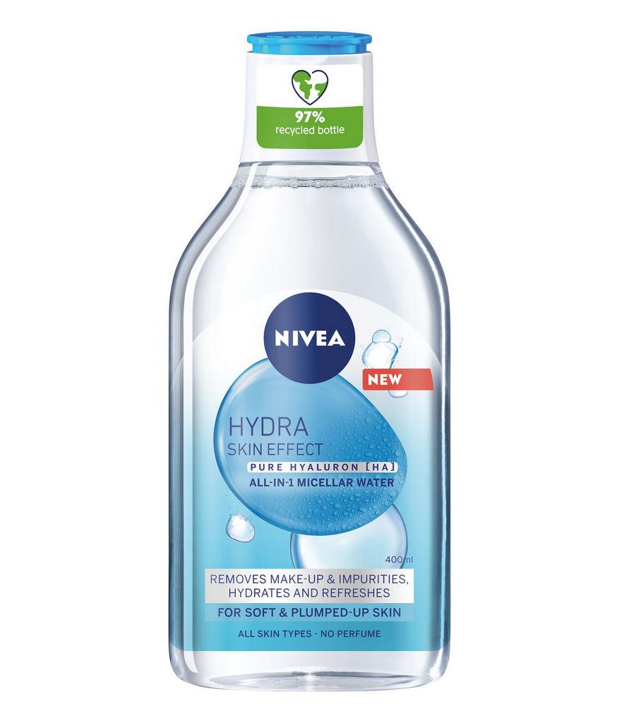 Micelarna voda Nivea, Hydra Skin Effect, 400 ml