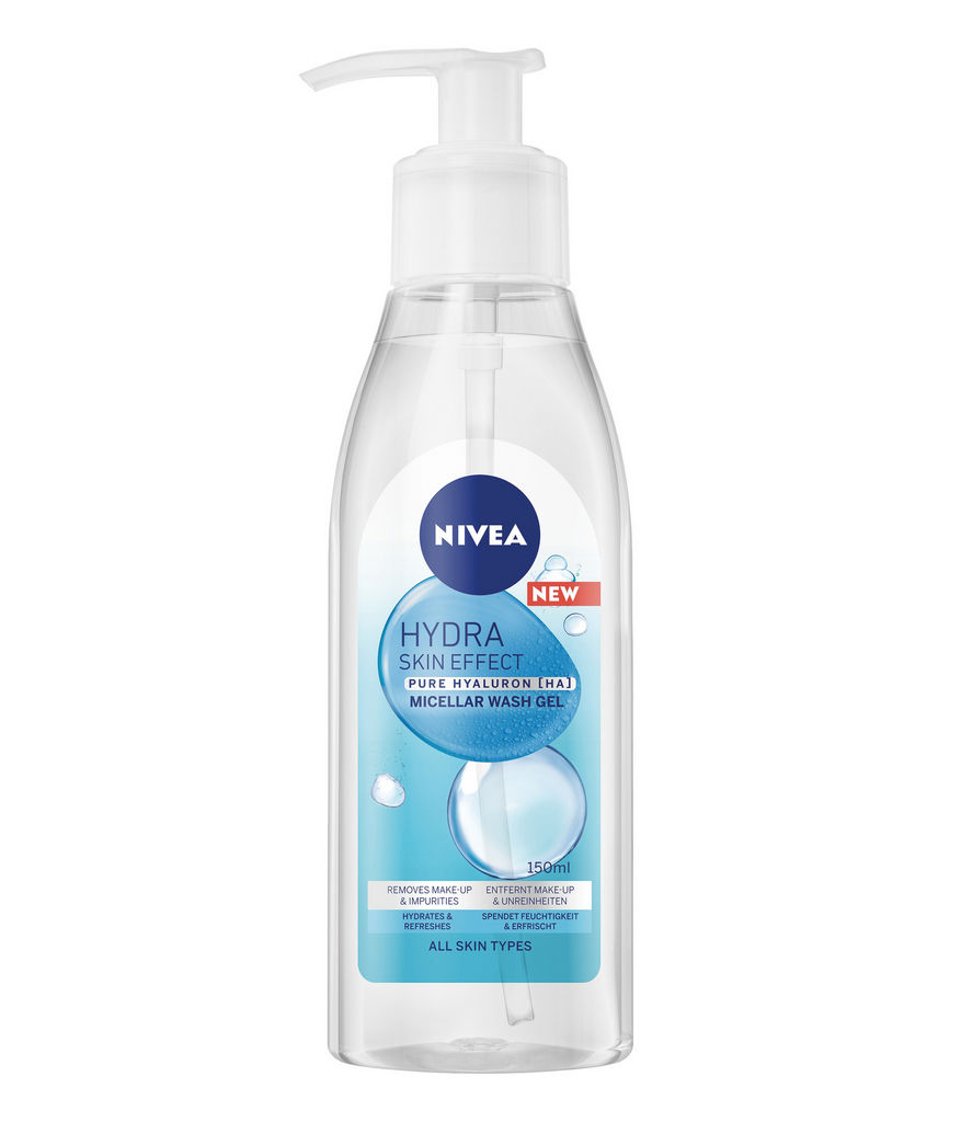 Micelarni gel Nivea, Hydra Skin Effect, 150 ml
