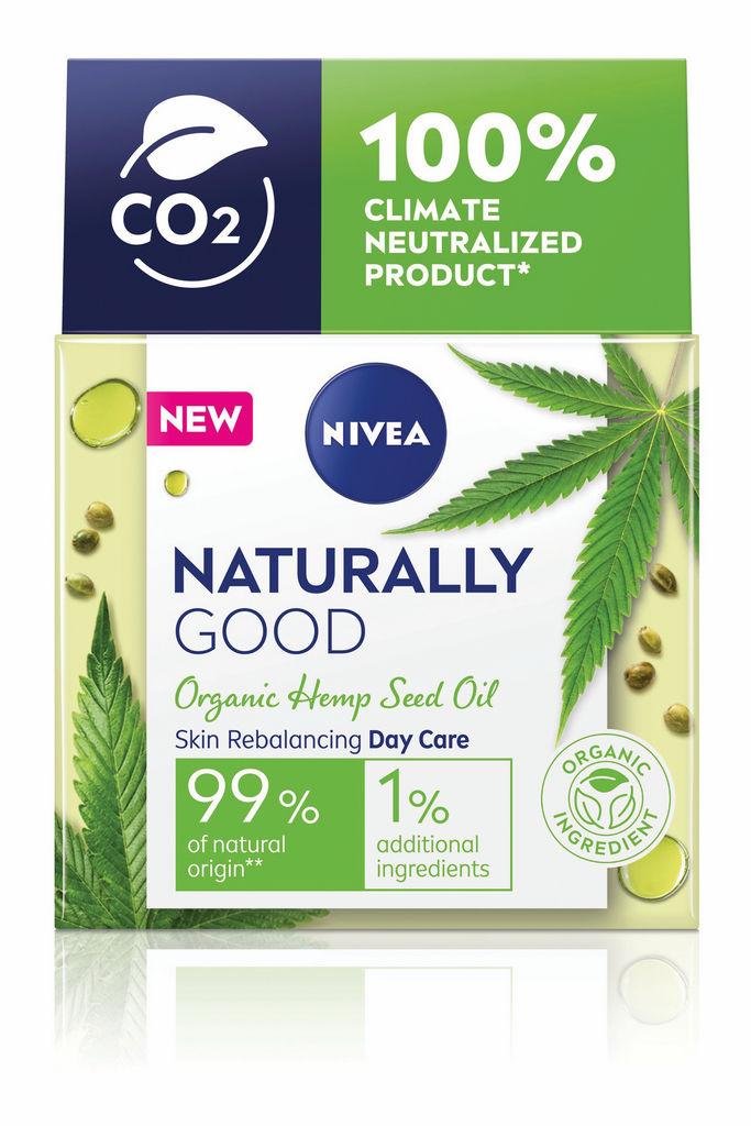 Krema Nivea Good, dnevna z oljem konoplje, 50 ml