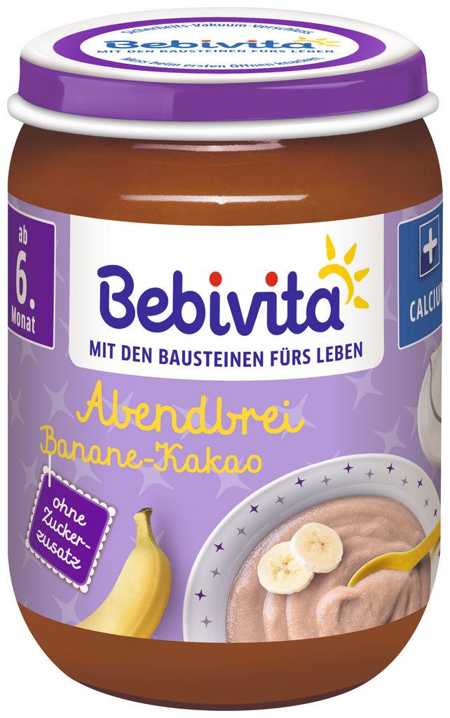 Kašica Bebivita, kakav, banana, 190 g