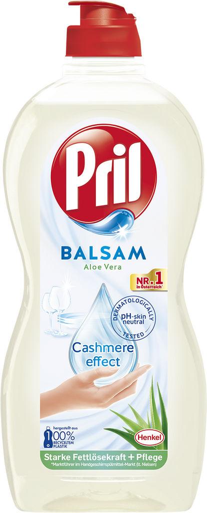 Detergent Pril, balsam, aloe vera, 450ml