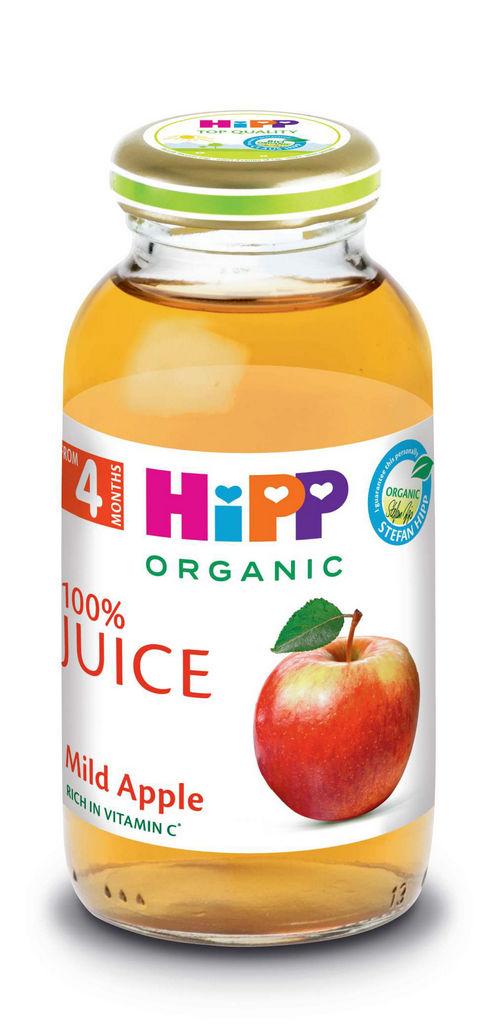 Sok Hipp Bio, jabolčni blagi, 200 ml