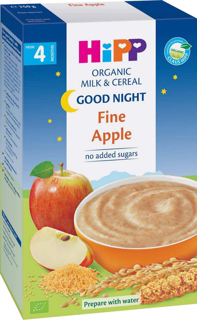 Kaša Bio Hipp, got,ml.jabolko, 250 g