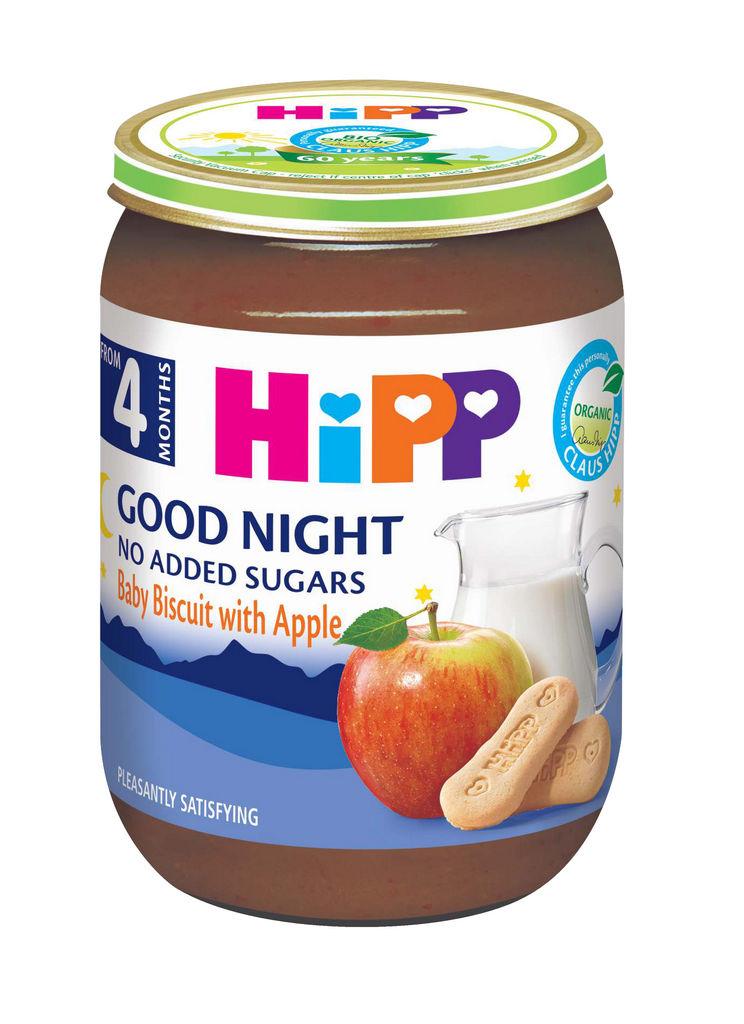 Kašica Hipp, Bio, baby s keksom, 190 g