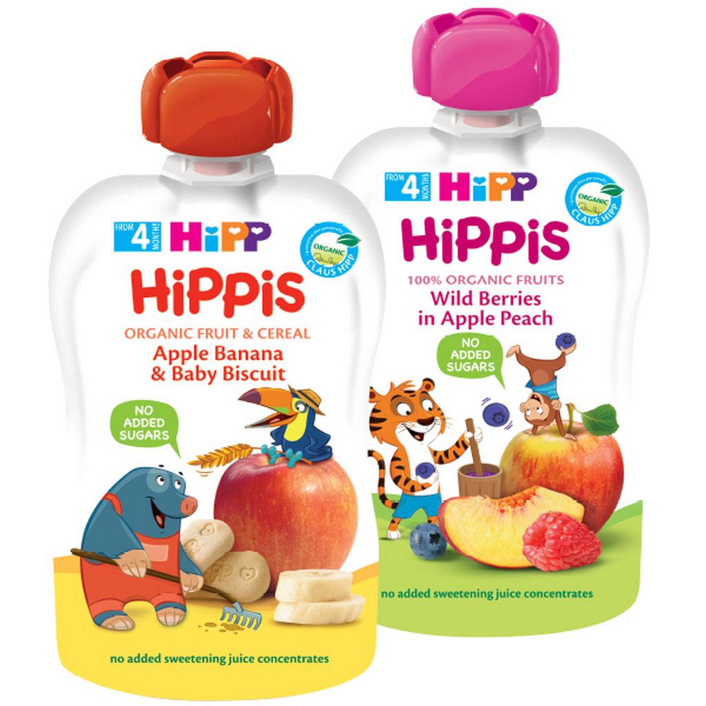 Blazinica Bio Hipp žitna jabolka, banana, keksi, 100g