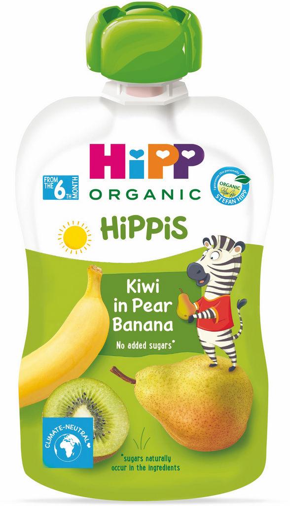 Blazinica Bio Hipp, kivi, hruška, banana, 100 g