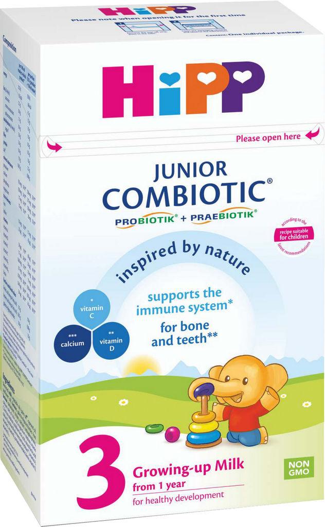 Mleko Hipp 3, Combiotic, junior, 500g