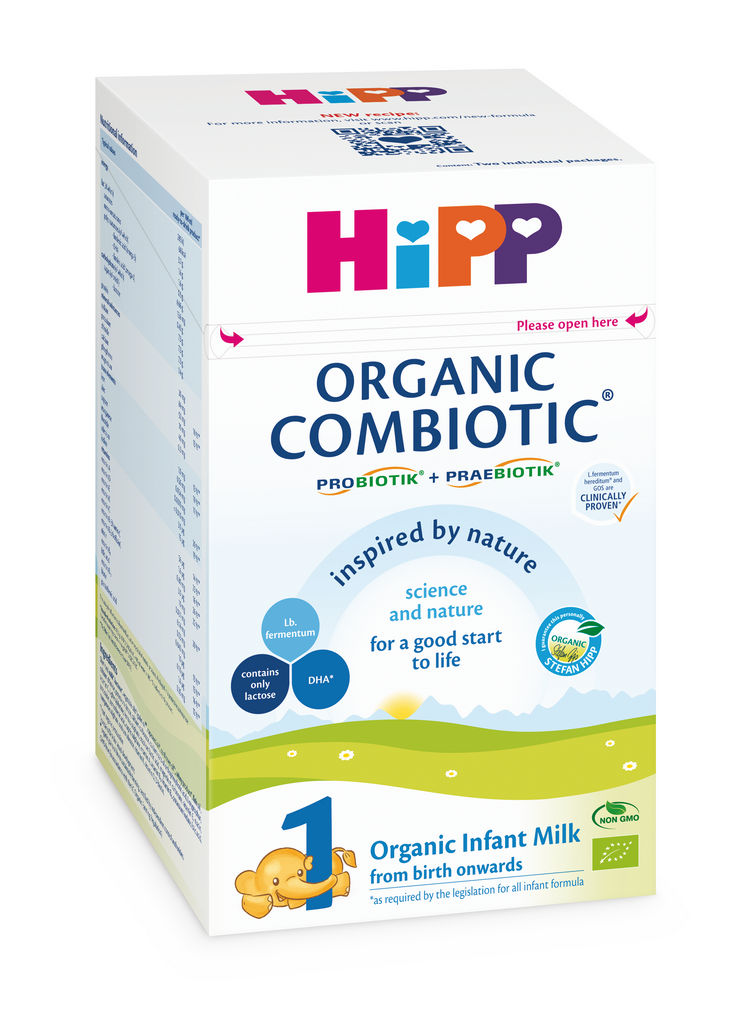 Mleko Bio Hipp, Organic Combiotic, začetno mleko, 800 g