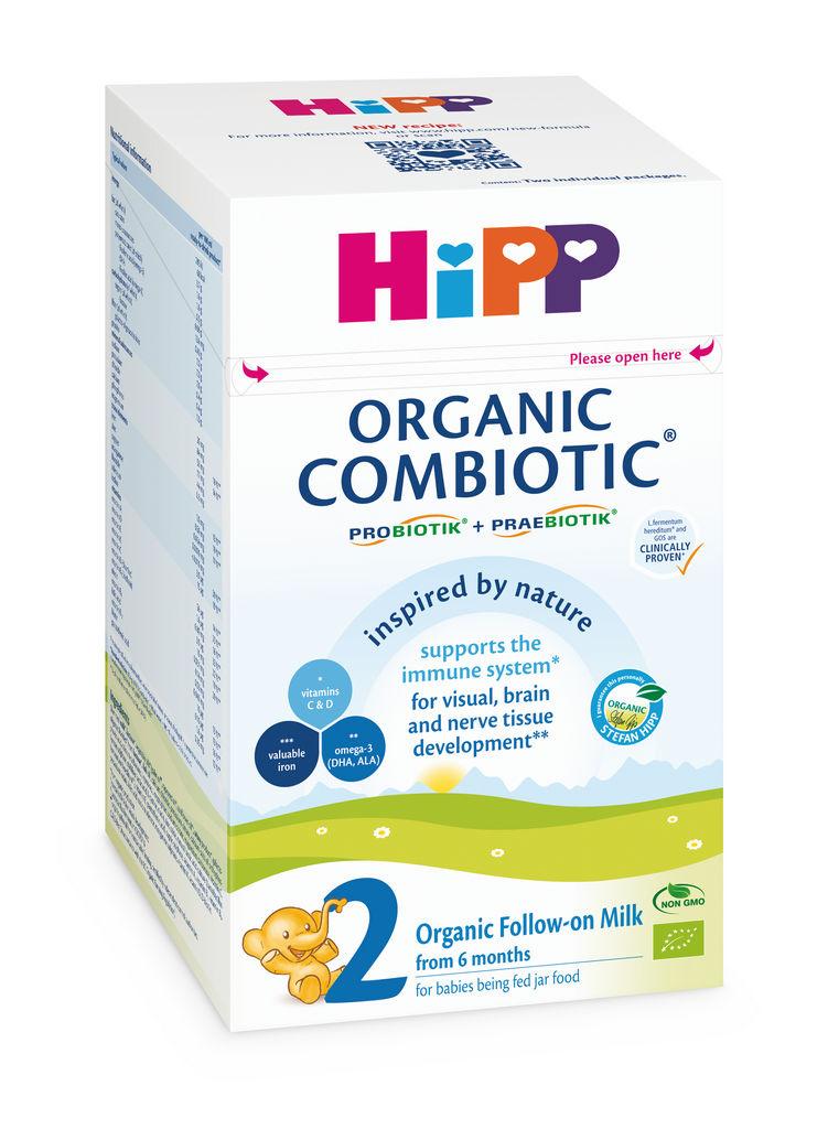 Mleko Bio Hipp, Organic Combiotic 2, nadaljevalno, 800 g