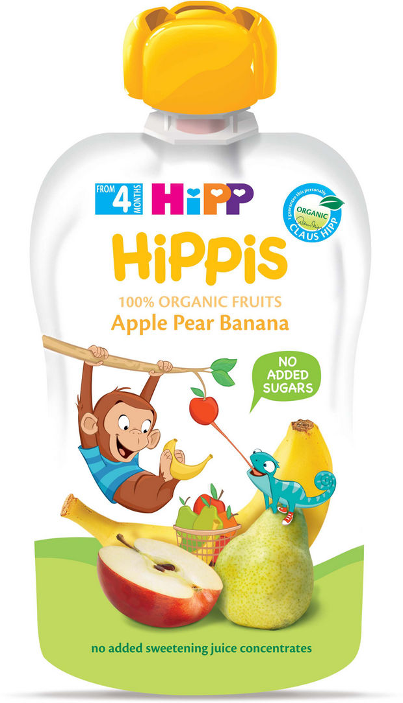 Blazinica Bio Hipp jabolka/hruška/banana, 100 g