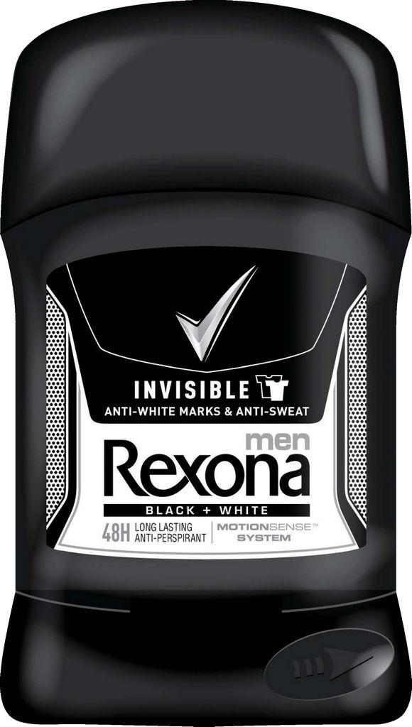 Dezodorant stick Rexona, inv.bw, 50ml