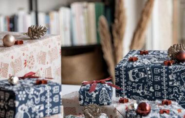Dobrodelni darilni papir